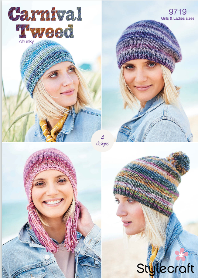 Stylecraft Pattern Carnival Tweed Chunky 9719 (download) product image