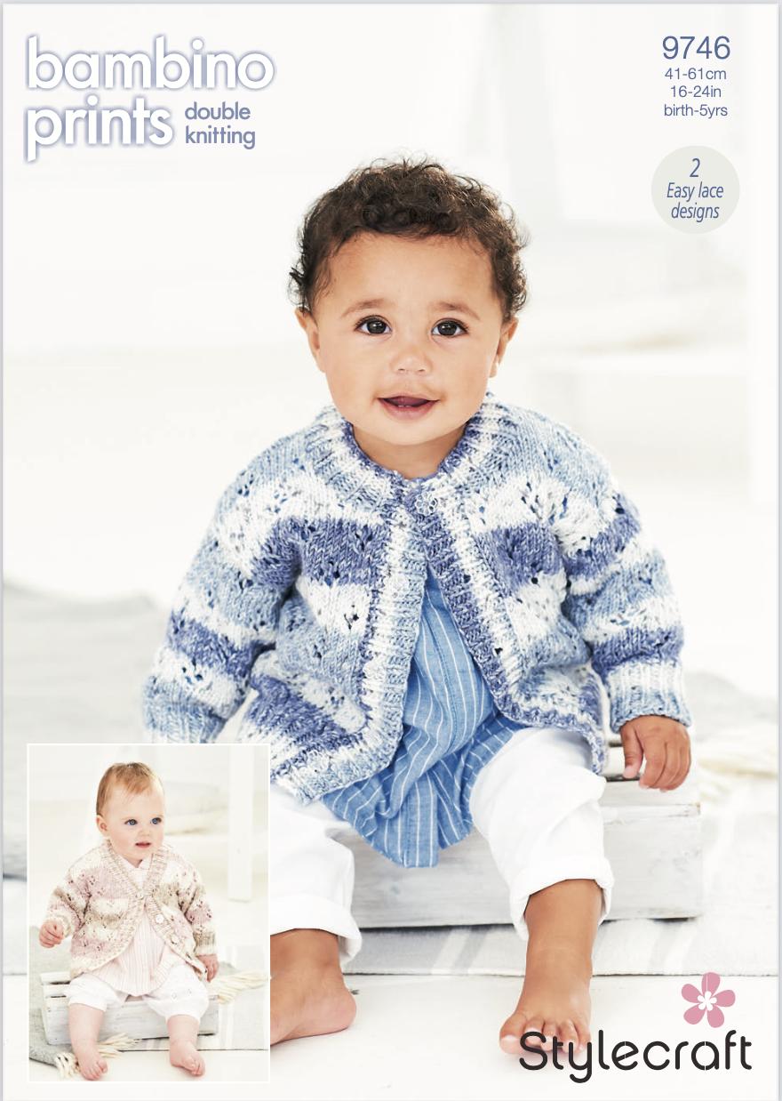 Stylecraft Pattern Bambino Prints DK 9746 (download) product image