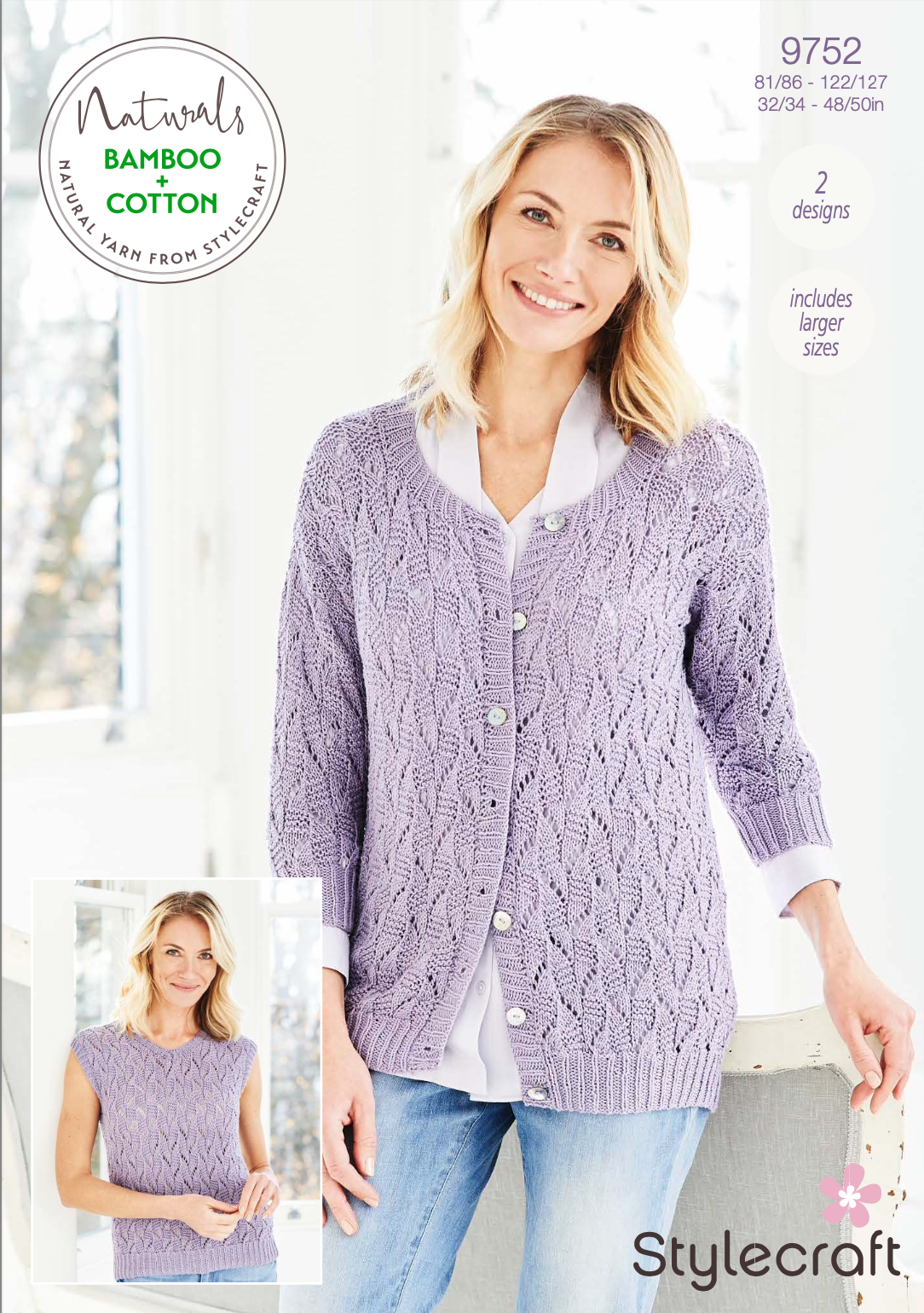 Stylecraft Pattern Naturals Bamboo+Cotton 9752 (download) product image