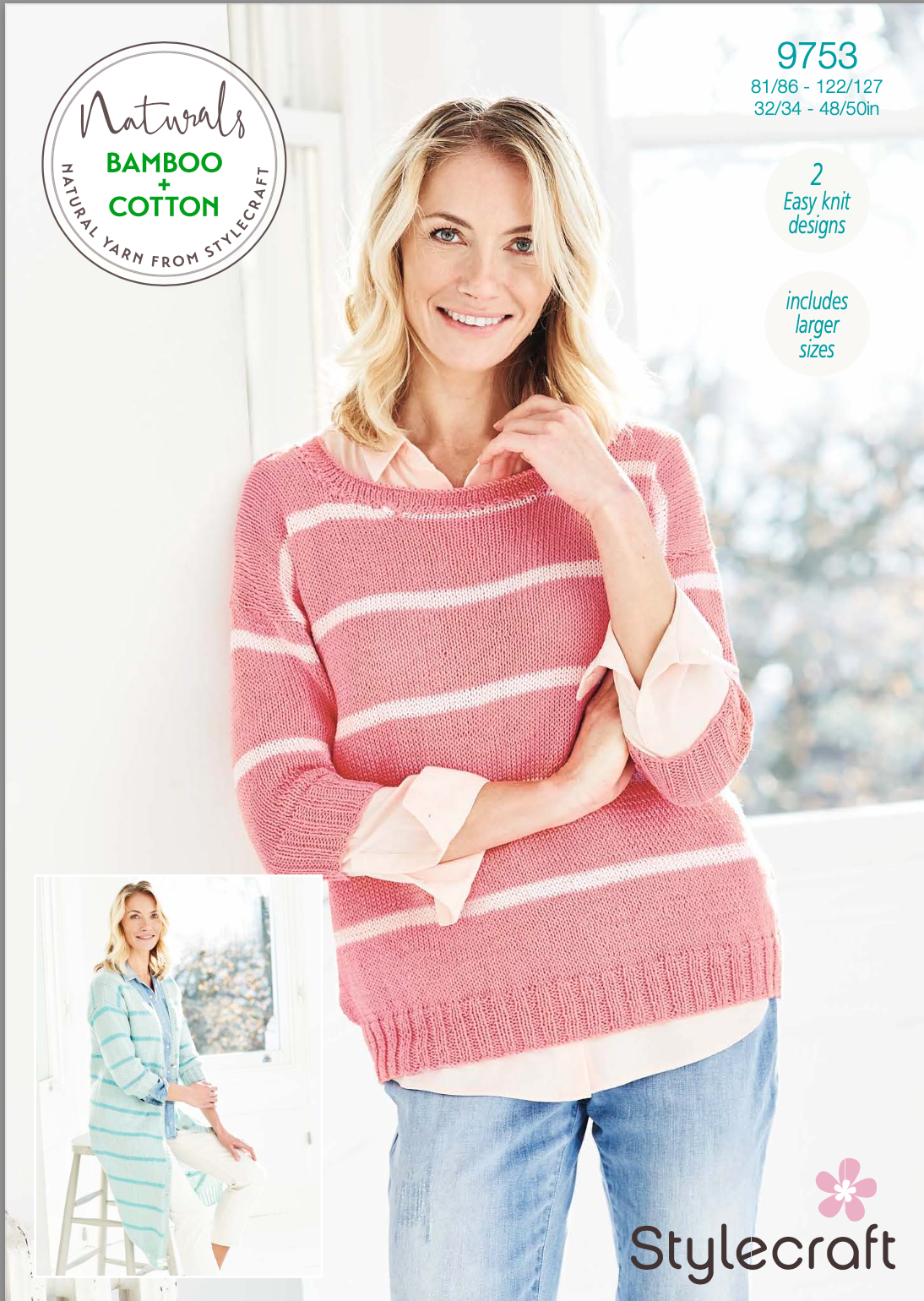 Stylecraft Pattern Naturals Bamboo+Cotton 9753 (download) product image