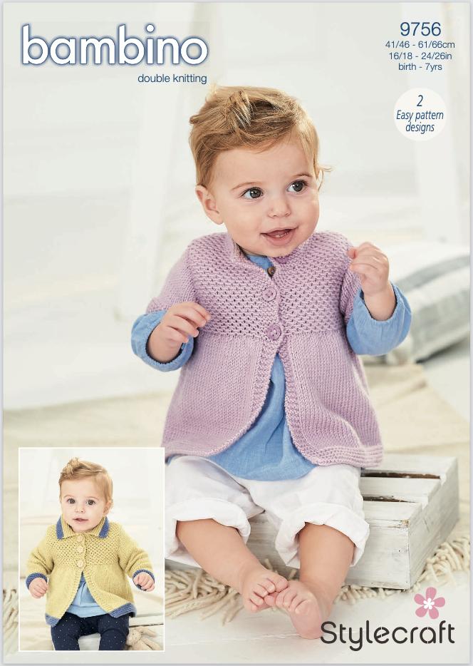 Stylecraft Pattern Bambino DK 9756 (download) product image