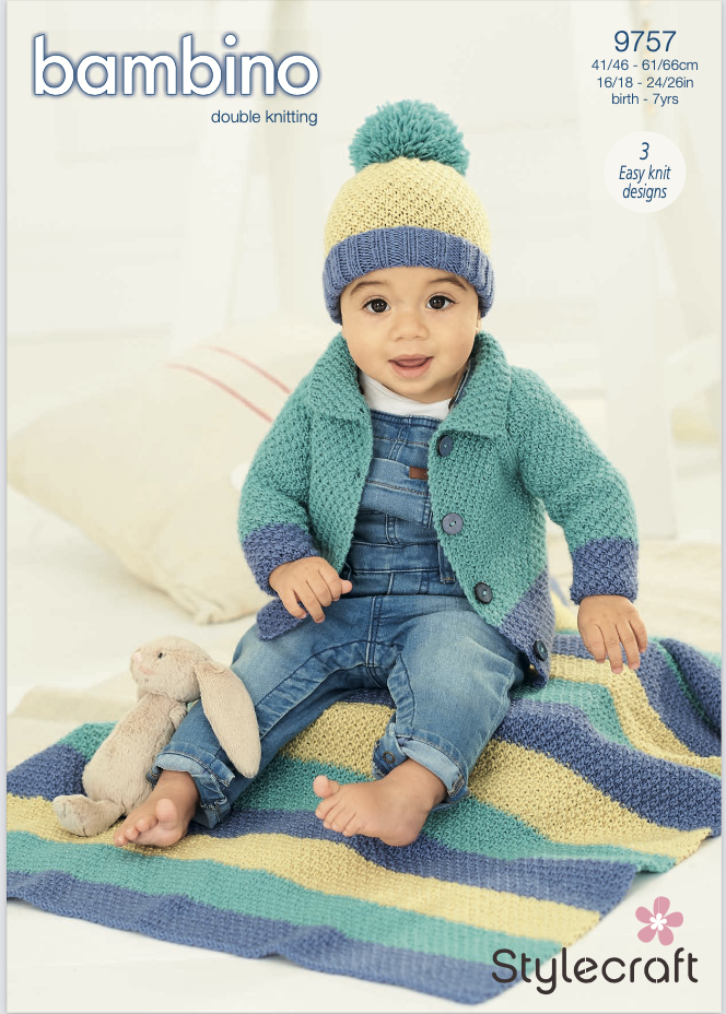 Stylecraft Pattern Bambino DK 9757 (download) product image