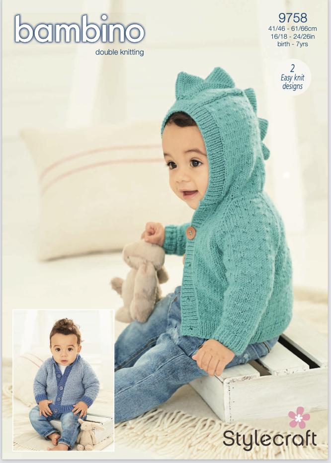 Stylecraft Pattern Bambino DK 9758 (download) product image