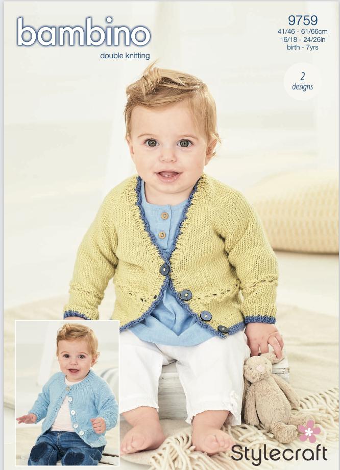 Stylecraft Pattern Bambino DK 9759 (download) product image