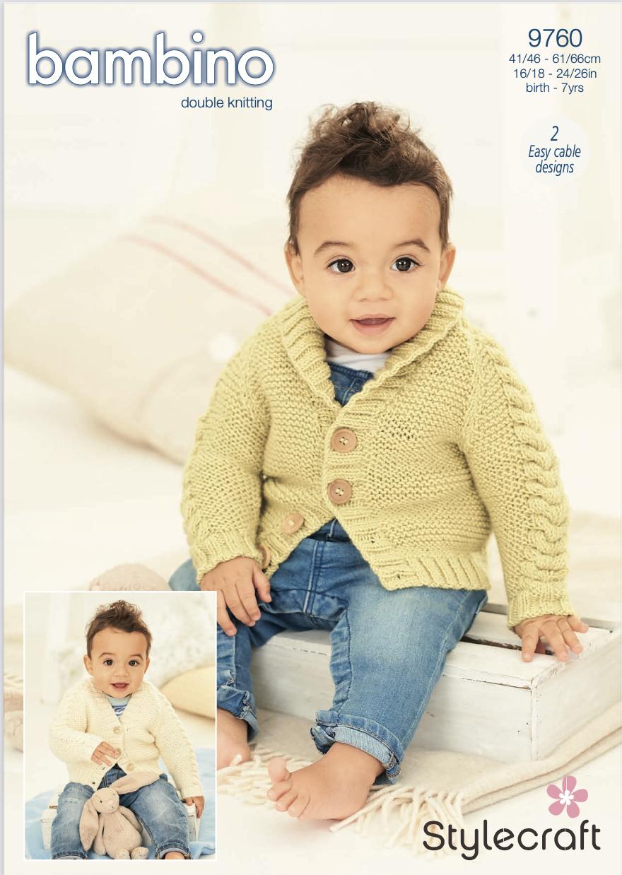 Stylecraft Pattern Bambino DK 9760 (download) product image