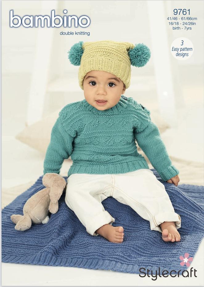 Stylecraft Pattern Bambino DK 9761 (download) product image