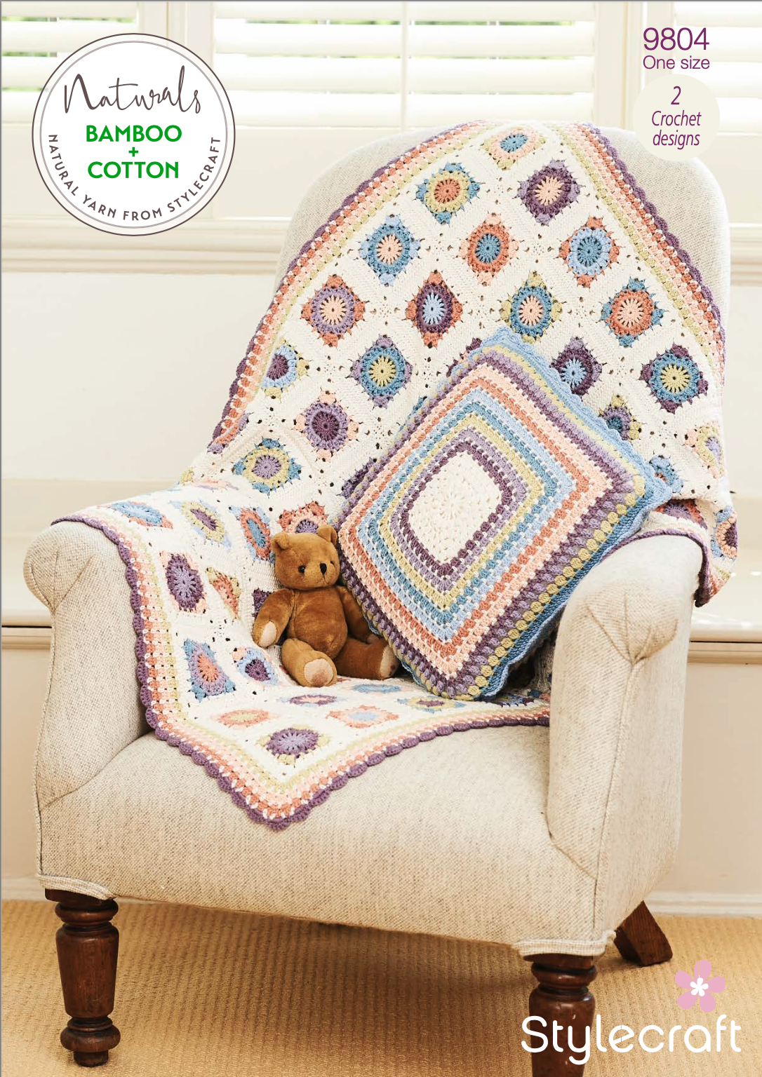 Stylecraft Pattern Naturals Bamboo+Cotton 9804 (download) product image