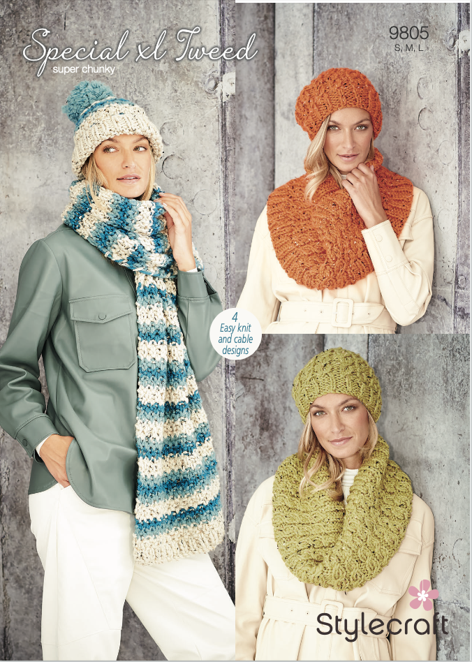 Stylecraft Pattern Special XL Tweed 9805 (download) product image