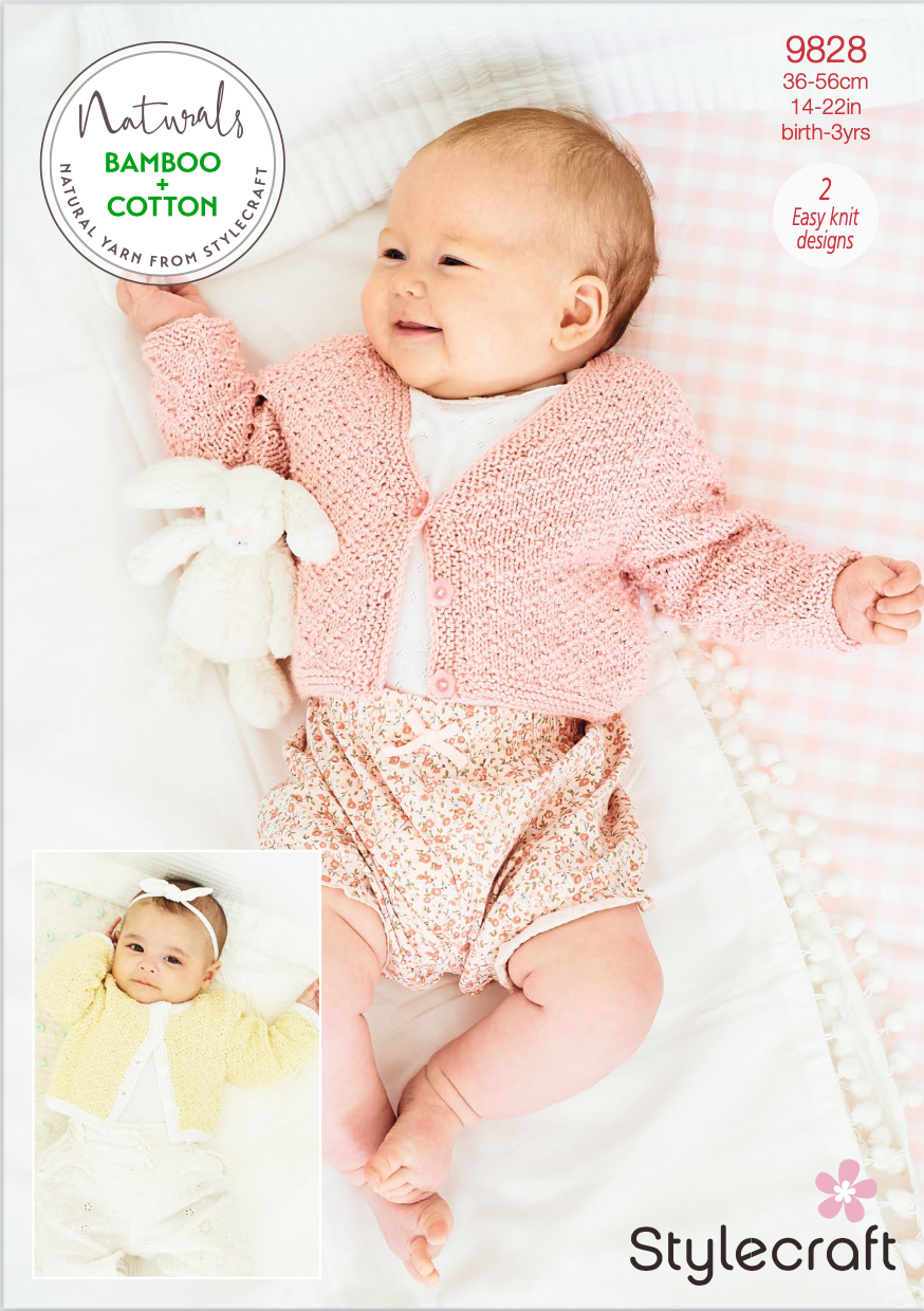 Stylecraft Pattern Naturals Bamboo+Cotton 9828 (download) product image