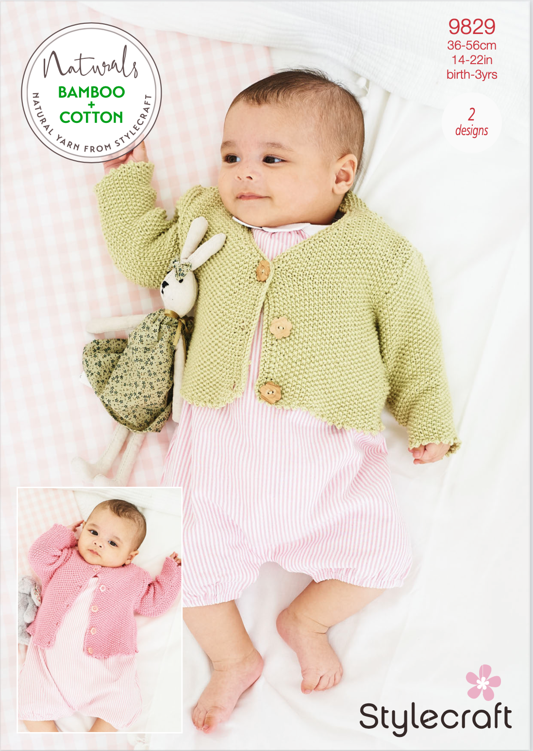 Stylecraft Pattern Naturals Bamboo+Cotton 9829 (download) product image