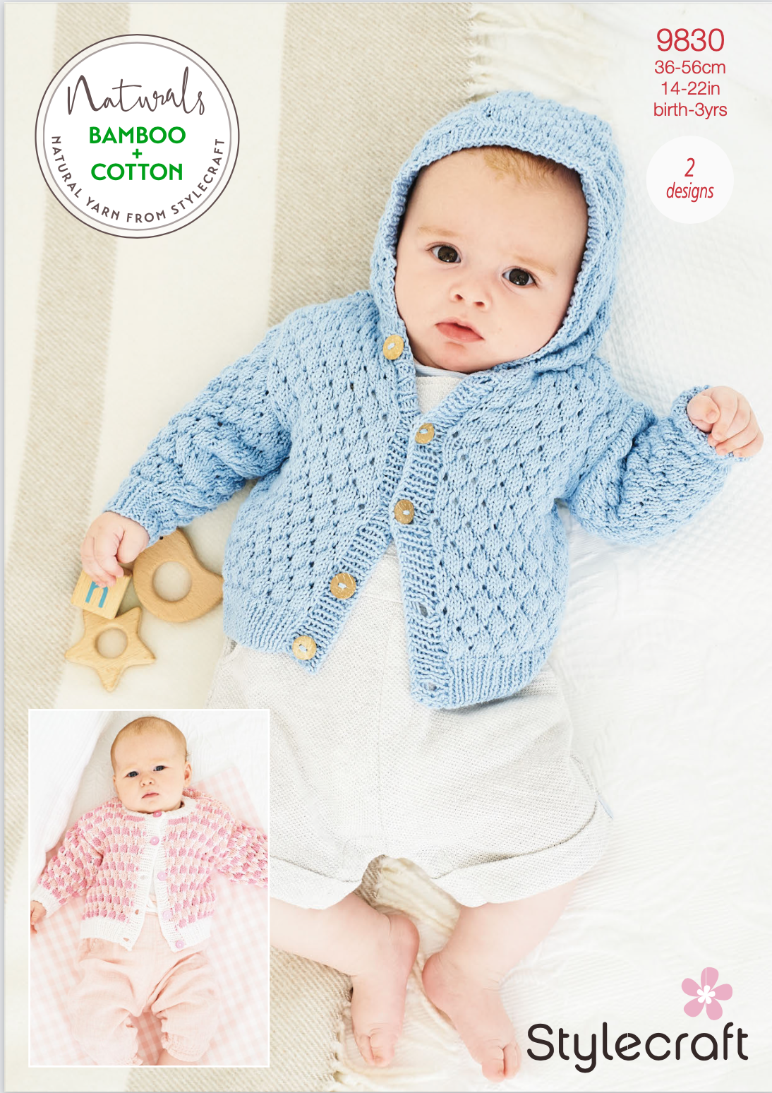 Stylecraft Pattern Naturals Bamboo+Cotton 9830 (download) product image