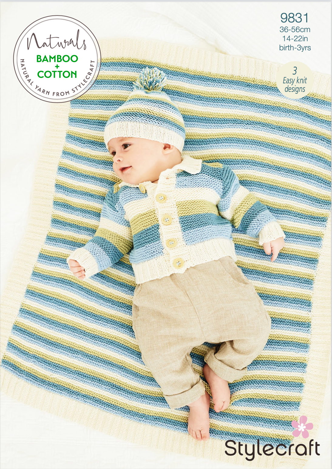 Stylecraft Pattern Naturals Bamboo+Cotton 9831 (download) product image