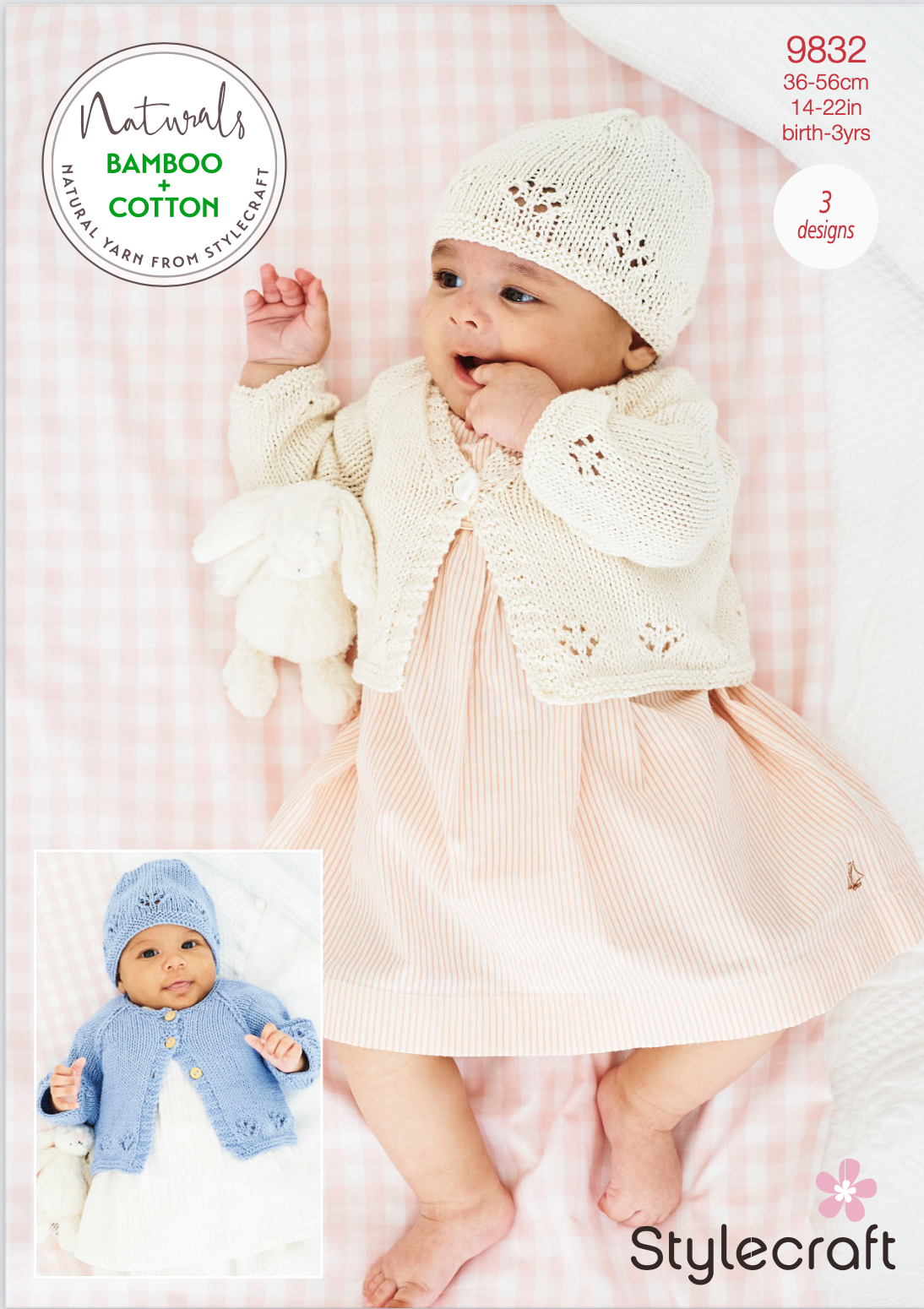 Stylecraft Pattern Naturals Bamboo+Cotton 9832 (download) product image