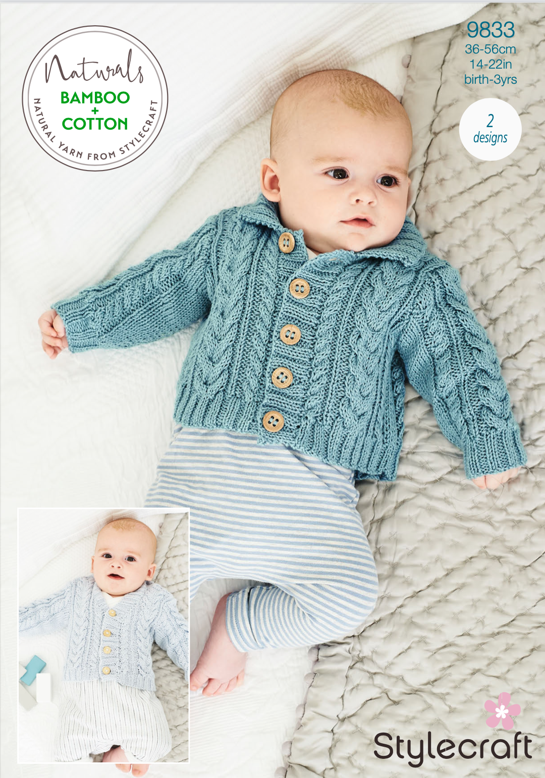 Stylecraft Pattern Naturals Bamboo+Cotton 9833 (download) product image