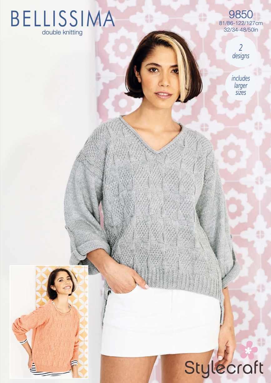 Stylecraft Pattern Bellissima DK 9850 (download) product image