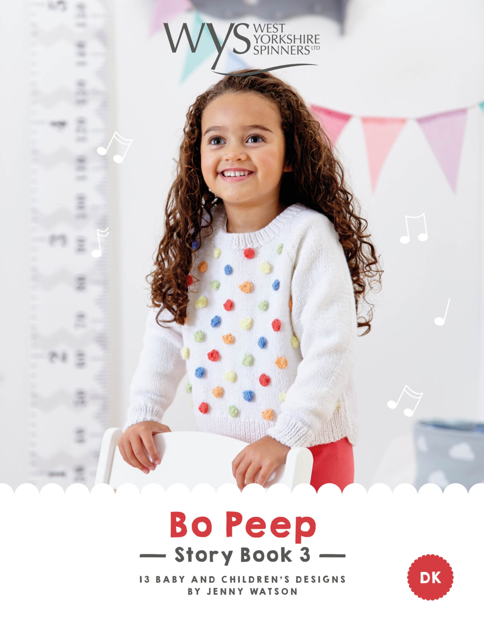West Yorkshire Spinners Bo Peep – Story Book 3: Pattern Book product image