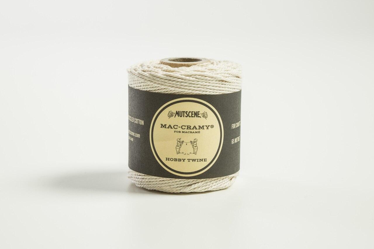 Nutscene Mac-Cramy – Fine Macrame 100% Cotton Twine product image