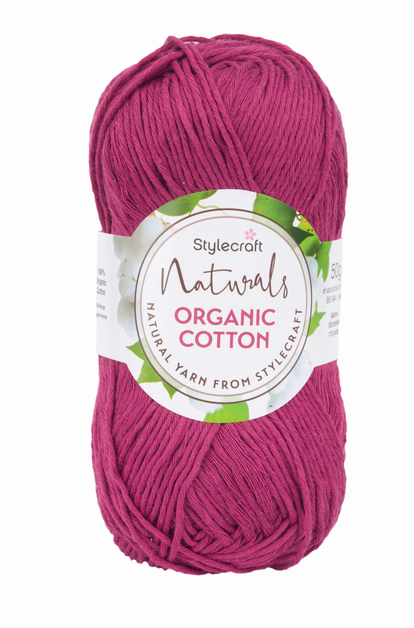 Stylecraft Naturals Organic Cotton product image