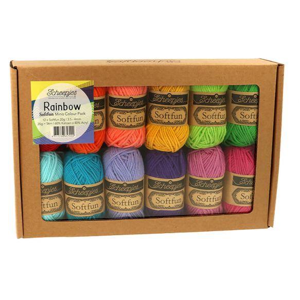 Scheepjes Softfun Minis Colour Packs product image