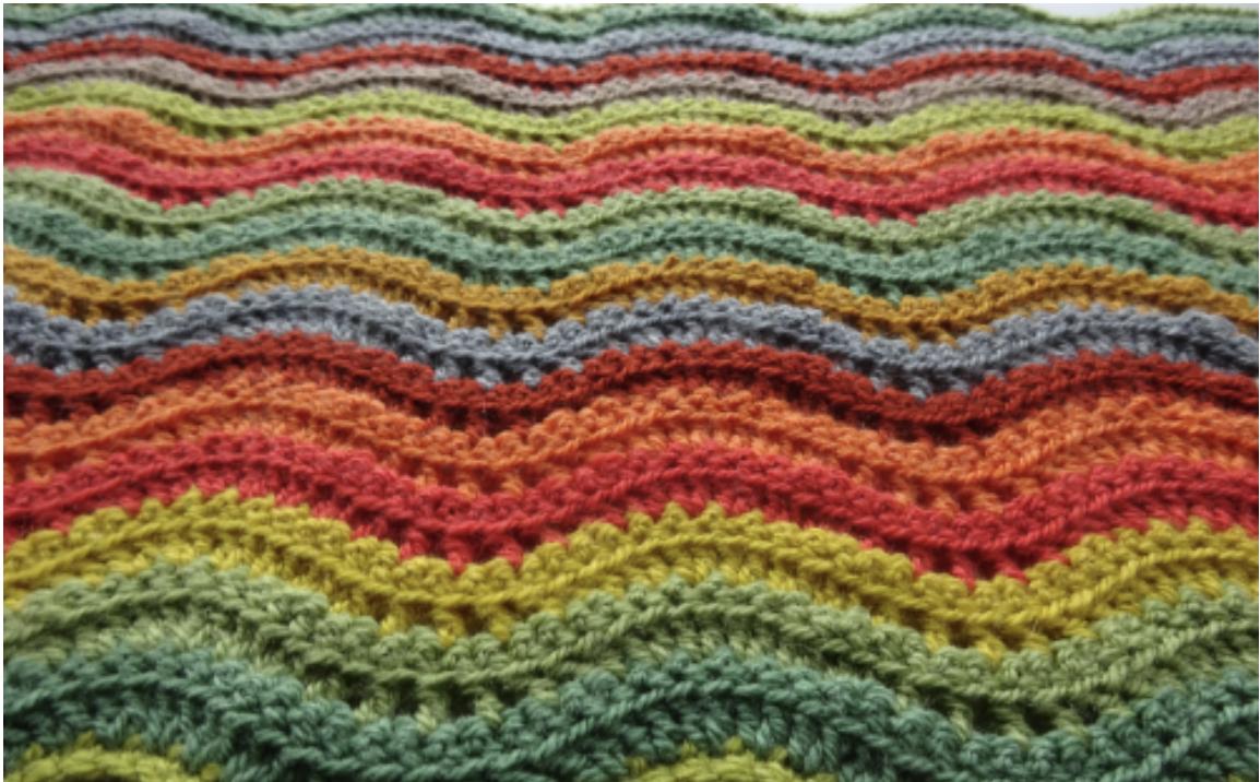 Attic24 Woodland Crochet Blanket Kit (Yarn Only) product image