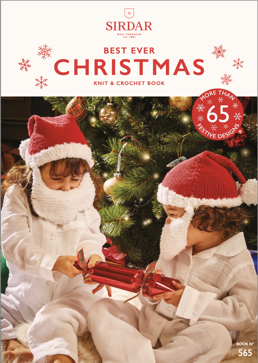 Sirdar Best Ever Christmas Knit & Crochet Book product image