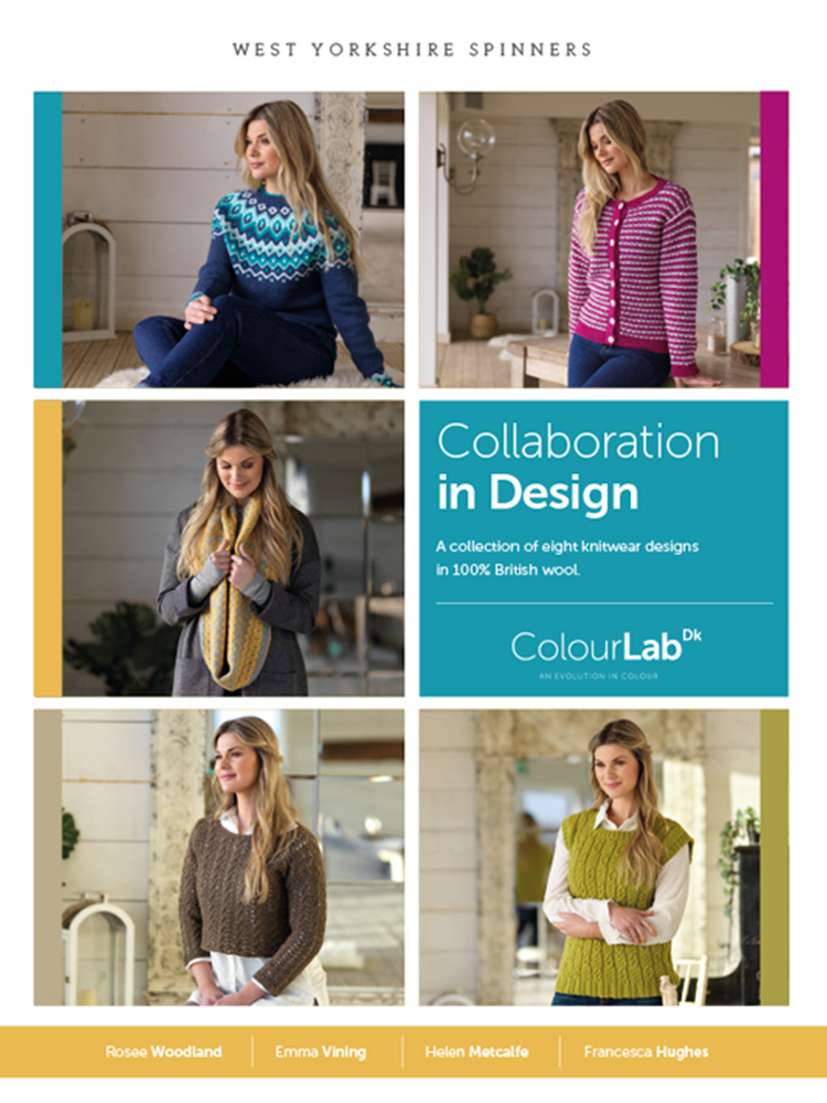 West Yorkshire Spinners Colour Lab DK – Collaboration in Design: Pattern Book product image