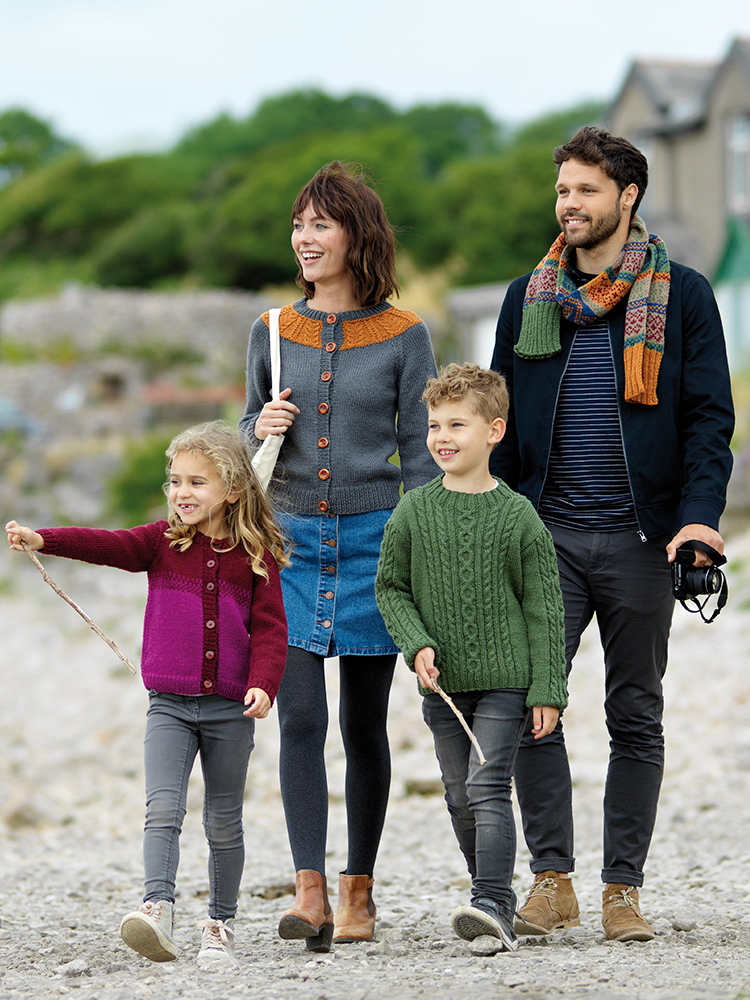 West Yorkshire Spinners The Croft – Shetland Colours: Pattern Book product image