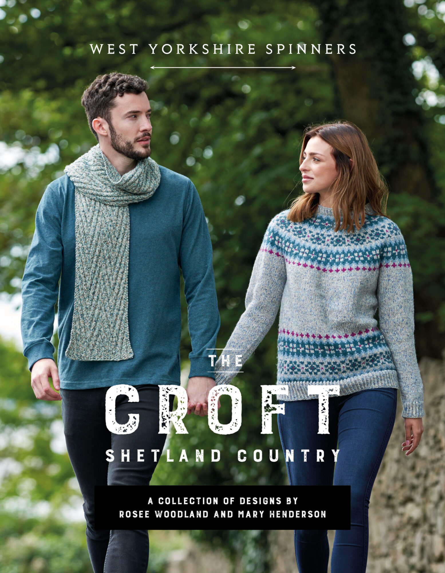 West Yorkshire Spinners The Croft – Shetland Country: Pattern Book product image