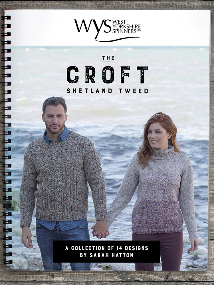 West Yorkshire Spinners The Croft – Shetland Tweed: Pattern Book product image