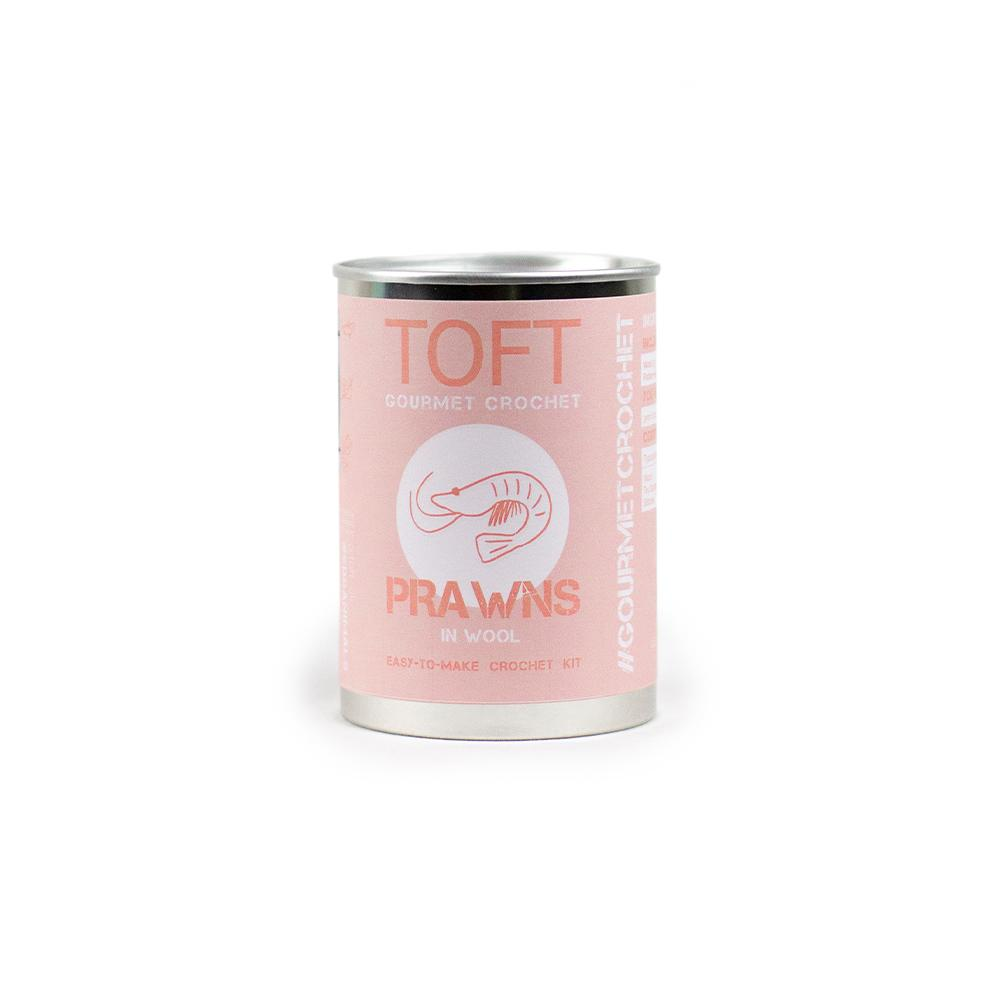 TOFT Gourmet Crochet: Prawns in a Tin product image