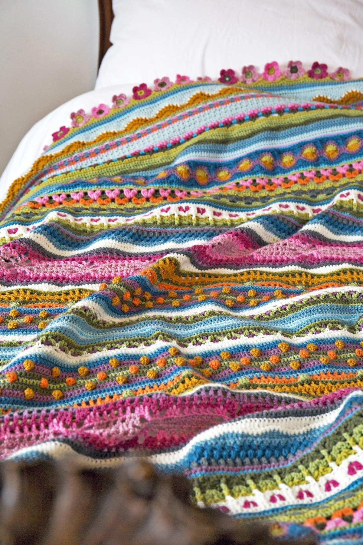 Sunshine and Showers Blanket Kit – Janie Crow (Yarn Only) product image
