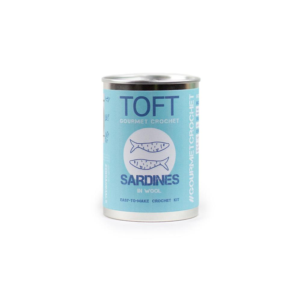 TOFT Gourmet Crochet: Sardines in a Tin product image