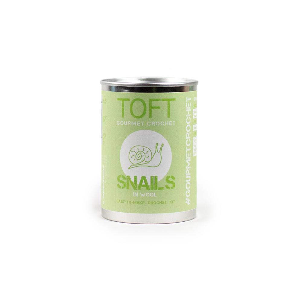 TOFT Gourmet Crochet: Snails in a Tin product image