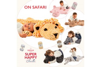 Sirdar Super Happy Chenille On Safari Pattern Book (Download) product image