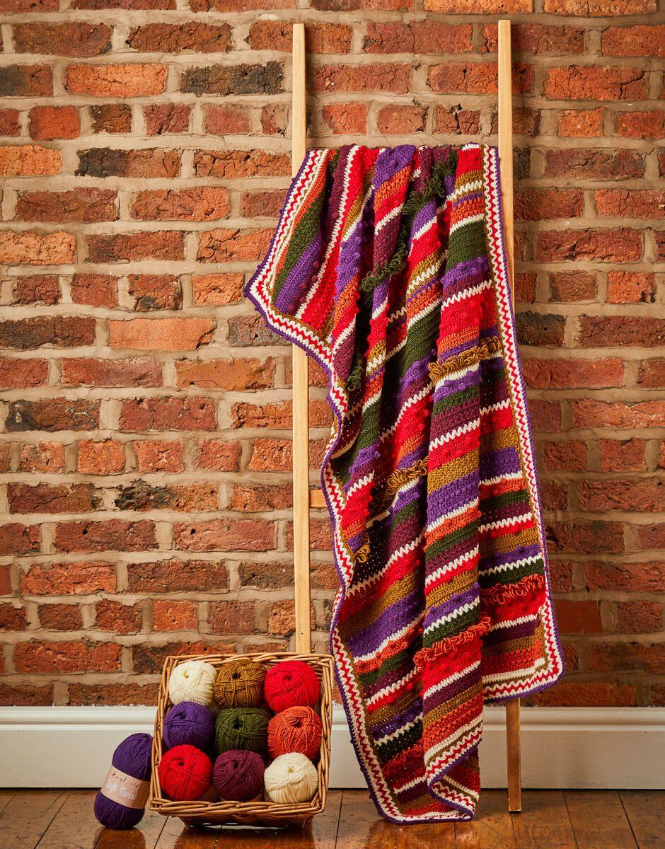 Sirdar Winter Berries Crochet Blanket Kit (Yarn Only) product image